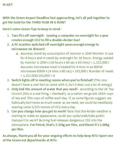 green impact 4